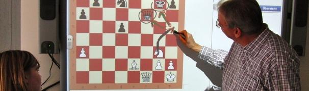 Chess Tutor + Smartboard = succesvolle combinatie